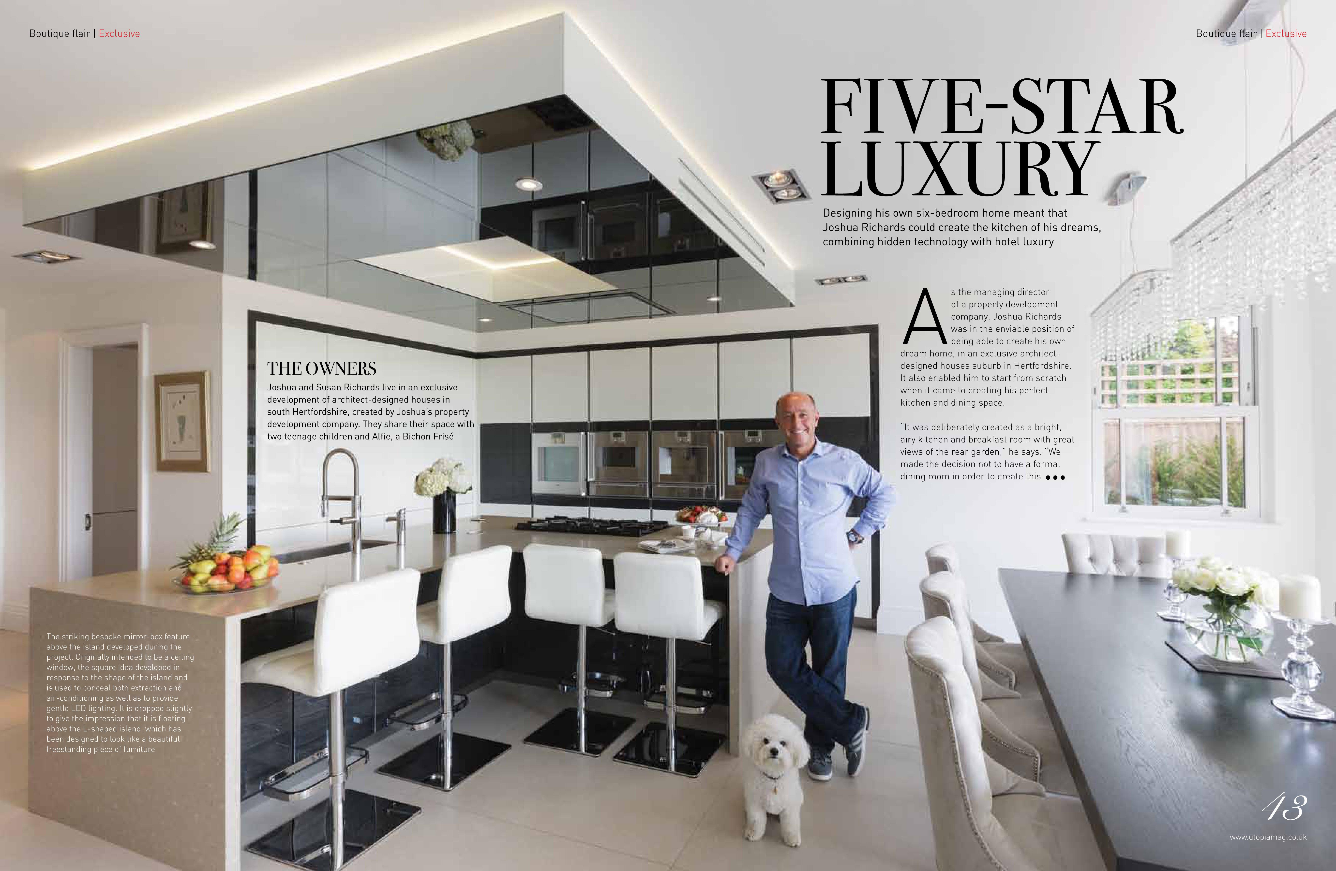 Five star luxury kitchen neil lerner designs for 5 star kitchen designs