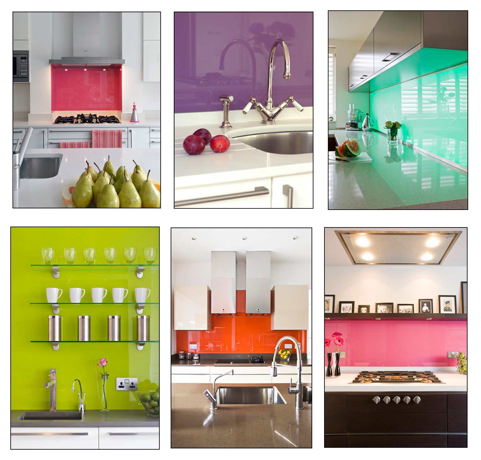 New Modern Kitchens At Neil Lerner: This Week We're Hot On...Zingy Splashbacks!