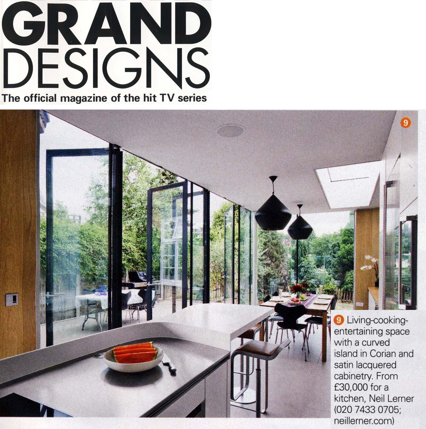 Grand Designs Kitchens: Neil Lerner Kitchen Designs