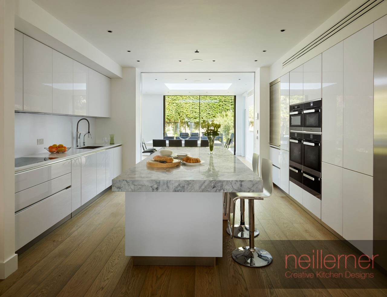 Fitted Family Kitchen Designs St Johns Wood Neil Lerner Kitchen - Family-kitchen-design