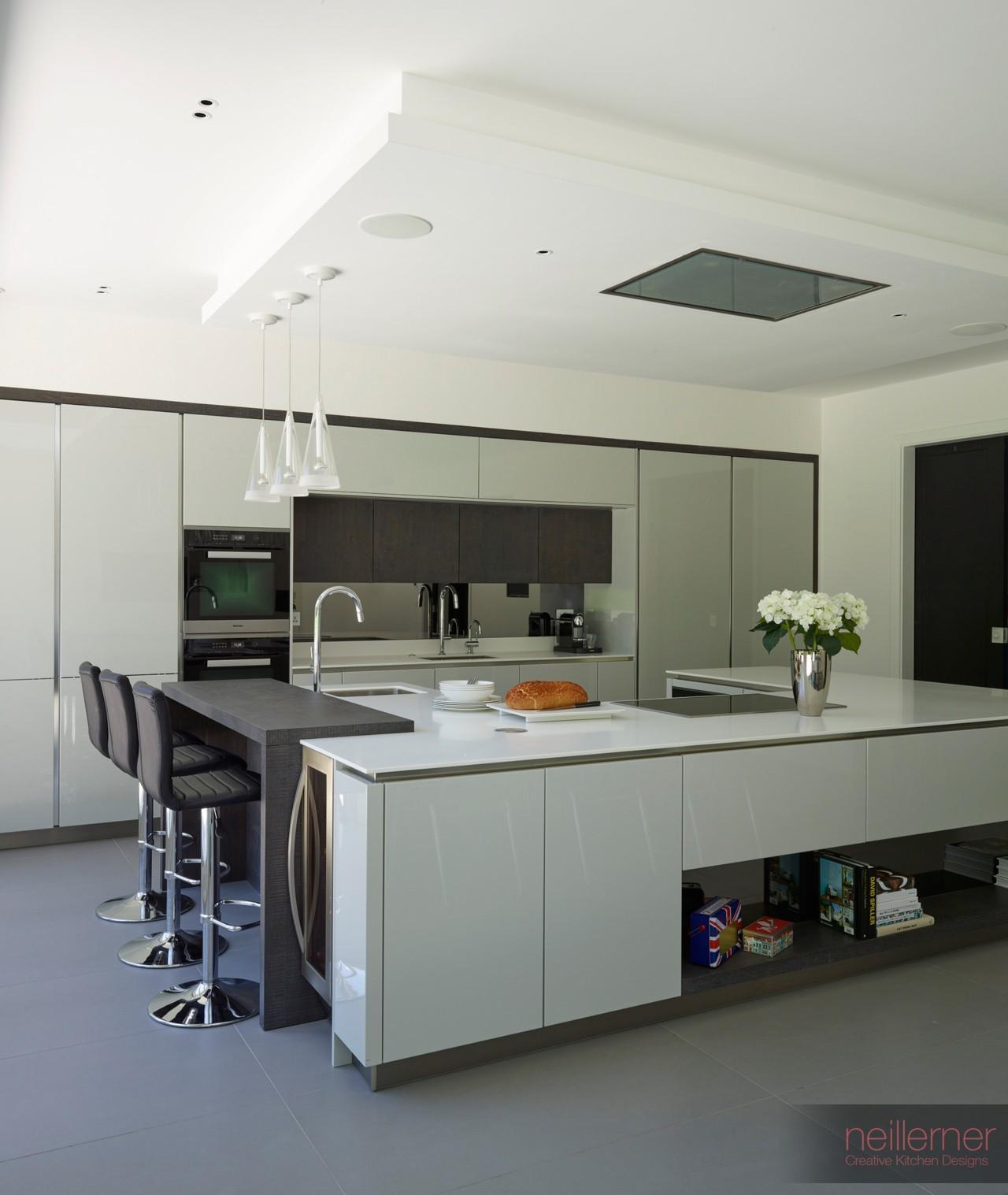 New Modern Kitchens At Neil Lerner: Modern Gloss Kitchens