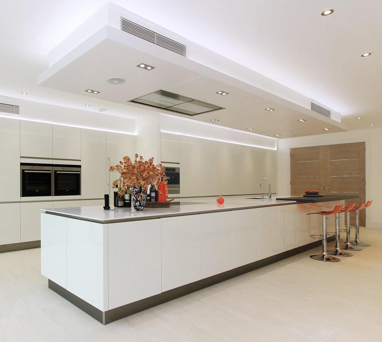 New Modern Kitchens At Neil Lerner: Large Fitted Kitchen Designs