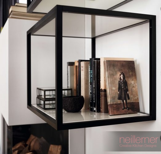 New Modern Kitchens At Neil Lerner: Storage Solutions And Display Options